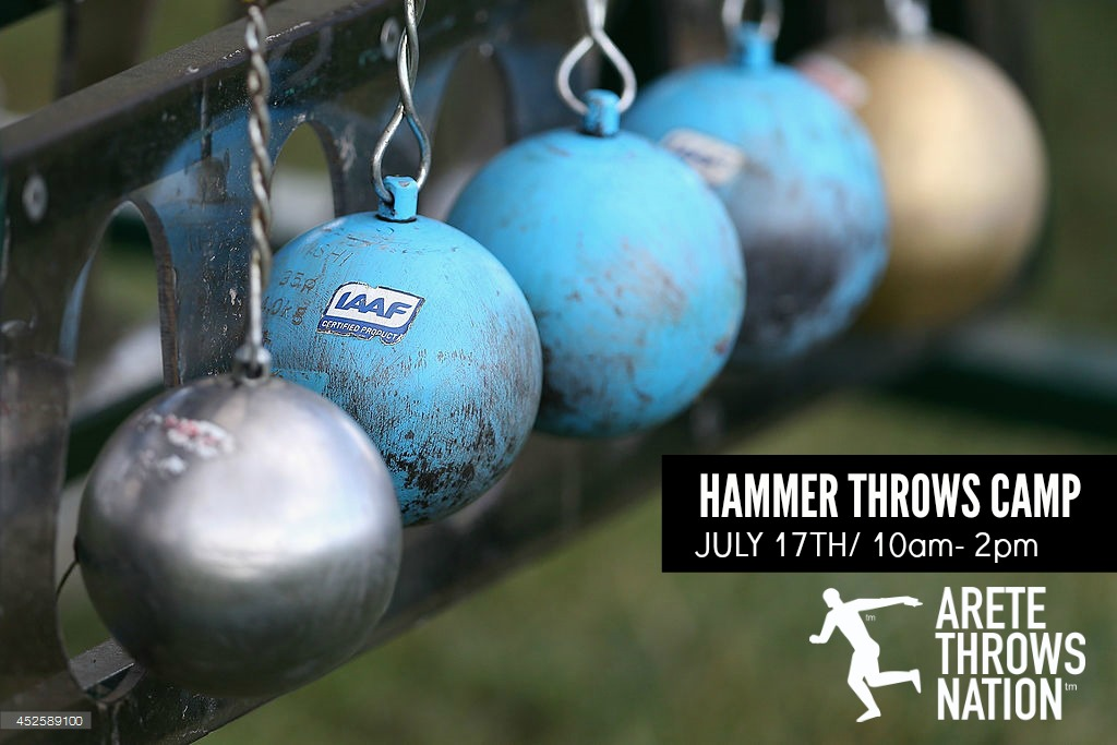 hammer throws techniques camp orange county ca 2016