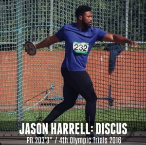 discus thrower jason harrell ATN TCR system