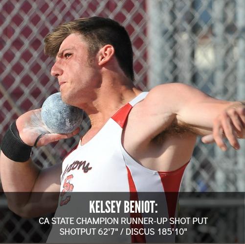 kelsey beniot shot put discus