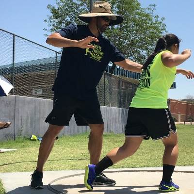 strength training for throwers