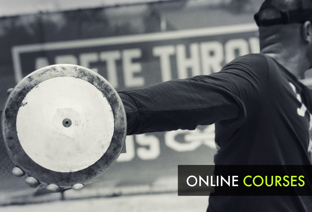 shot put and discus throws courses online