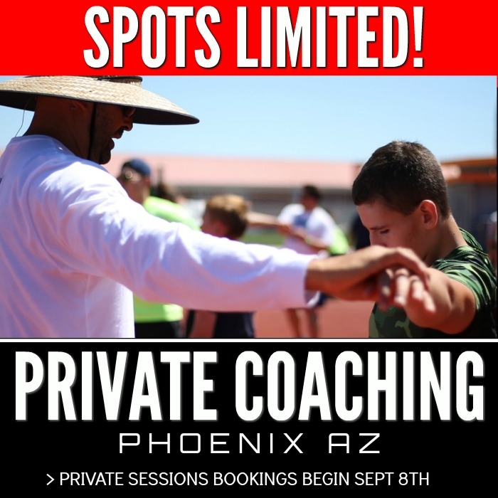 shot put and discus throws coaching phoenix arizona
