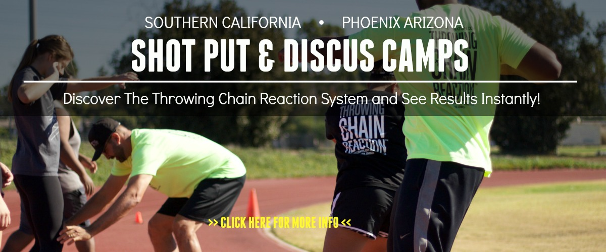 shot put and discus camps california arizona
