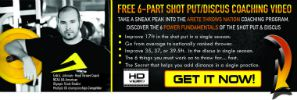 shot put and discus fundamentals videos