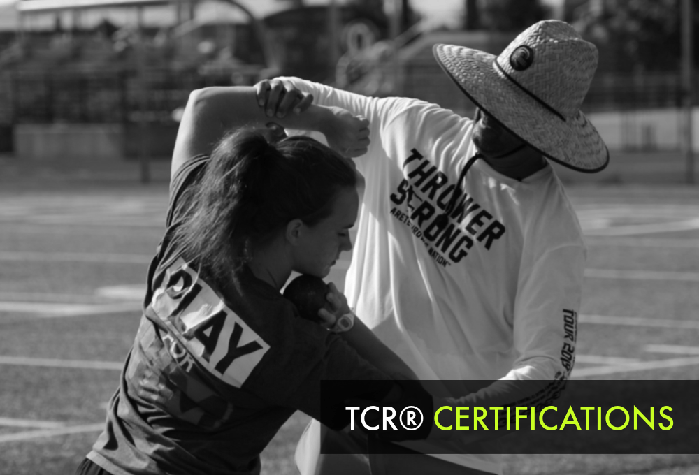 shot put and discus throws coaching certifications
