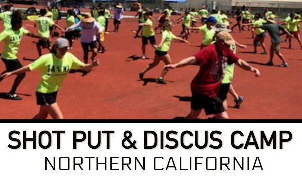 sho tput discus throws camp Nor Cal