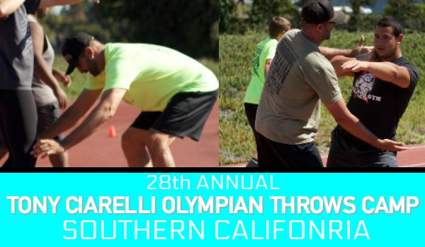 Shot put discus throws So Cal