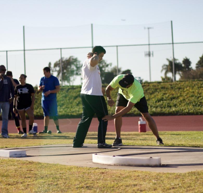 shot put discus hammer throw camp california