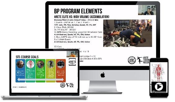 online course strength training and program design