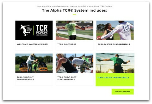 shot put and discus throws technique training online