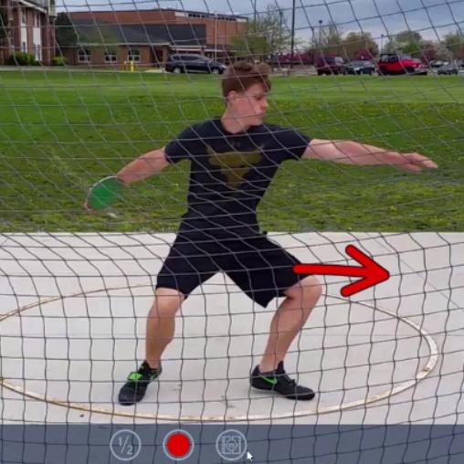 discus throws technique training