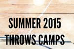 shot put and discus summer 2025 camps