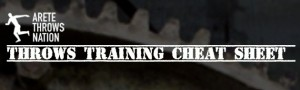 shot put discus training programs