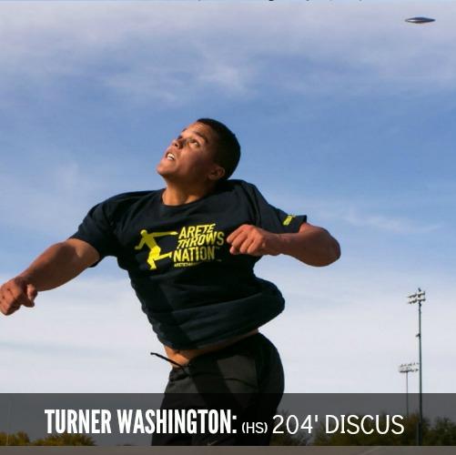 turner washington discus 204