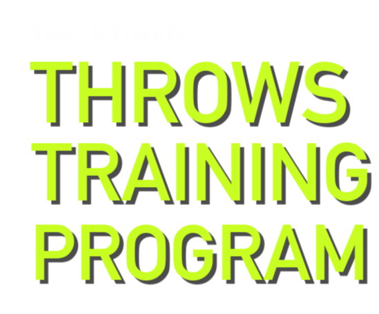 shot put and discus throws educational system for coaches and throwers